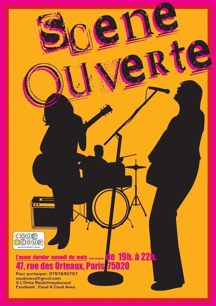 Scène ouverte Interactive @ L'Ortie Roule | Paris | Île-de-France | France