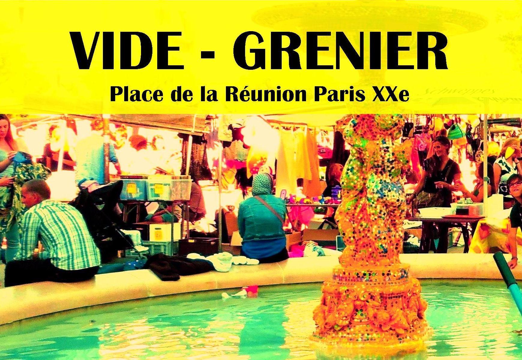 Vide-grenier @ Place de la Réunion   Paris   Île-de-France   France