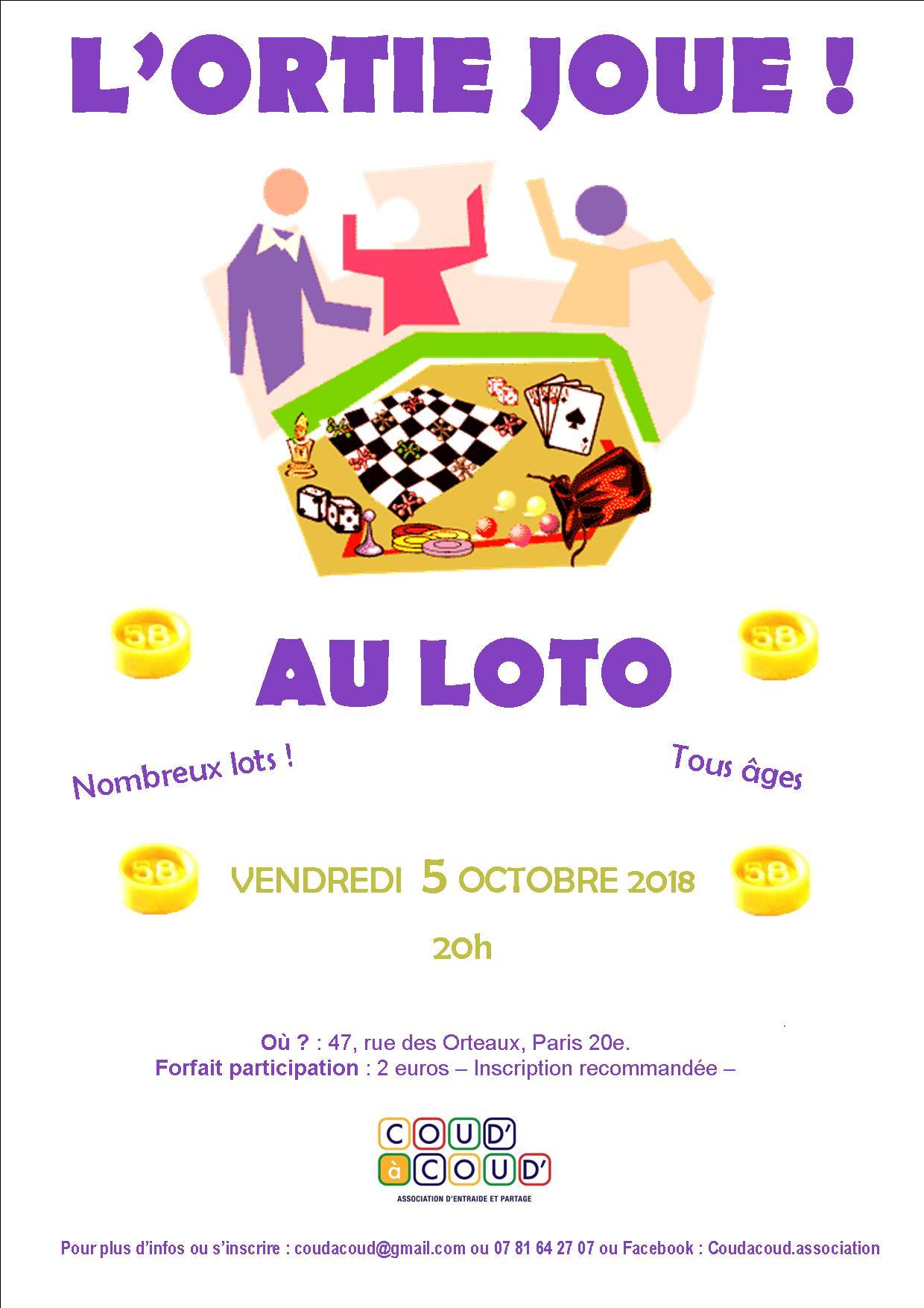 L'Ortie joue au LOTO @ L'Ortie Roule | Paris | Île-de-France | France